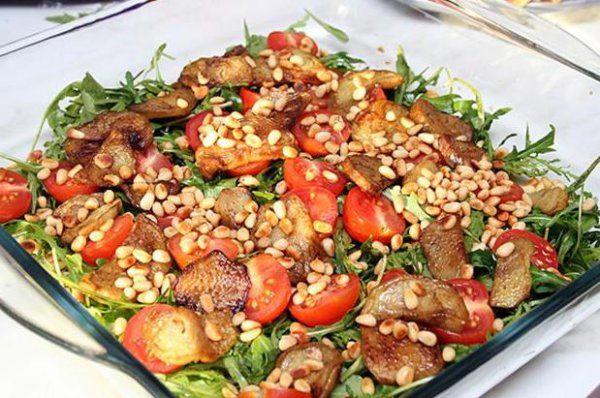 Летние салаты рецепты легкие
