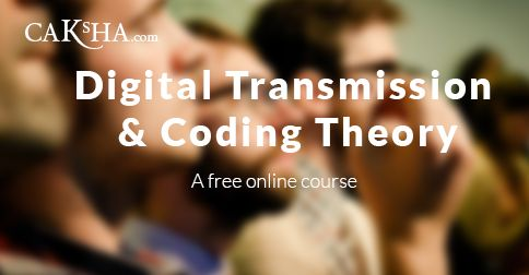 Advance course on digital transmission, specifically dealing with coding theory. Suitable for students pursuing Masters in Electronics.