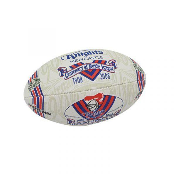 Ball S2 NRL CORL Knights Supporter https://ballsdirect.com/
