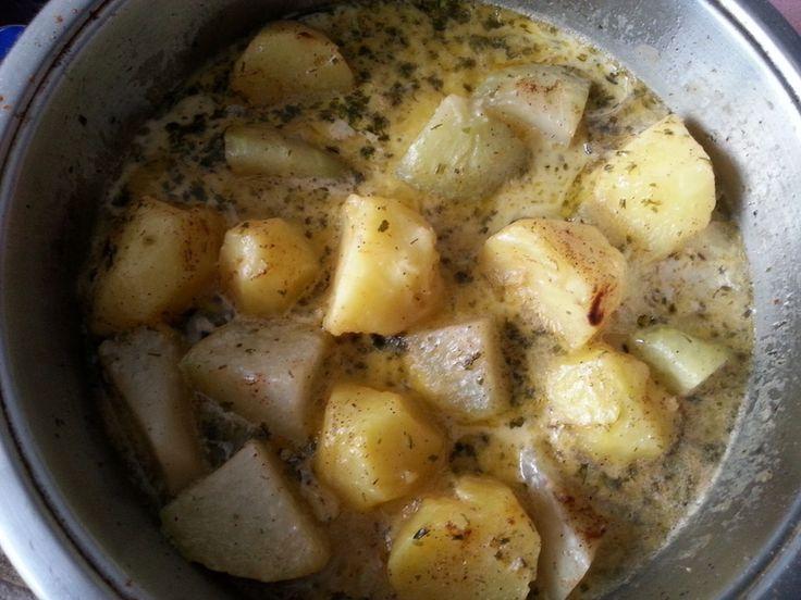 Kartoffel-Kohlrabi-Pfanne