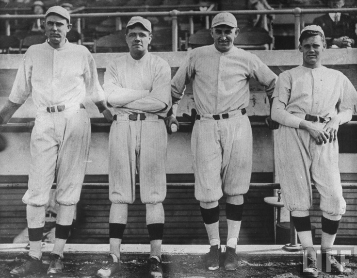 Ernie Shore Babe Ruth Carl Mays And Dutch Leonard