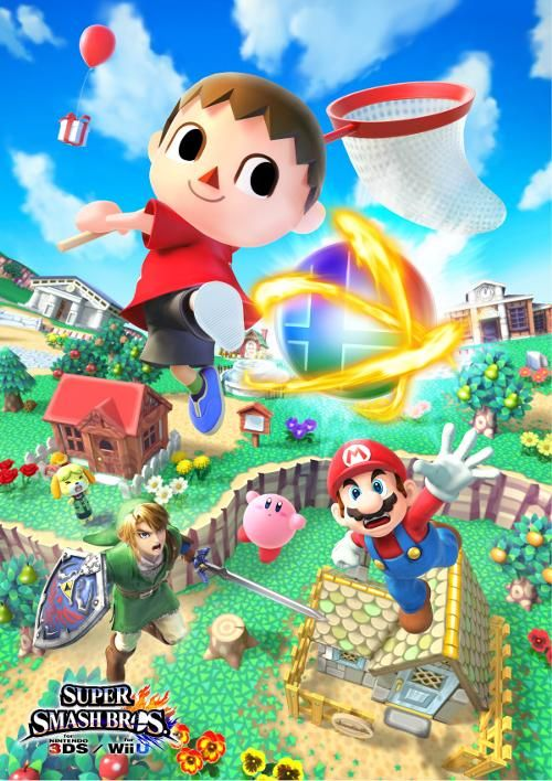 Villager (character) for Super Smash Bros 4! Finally!