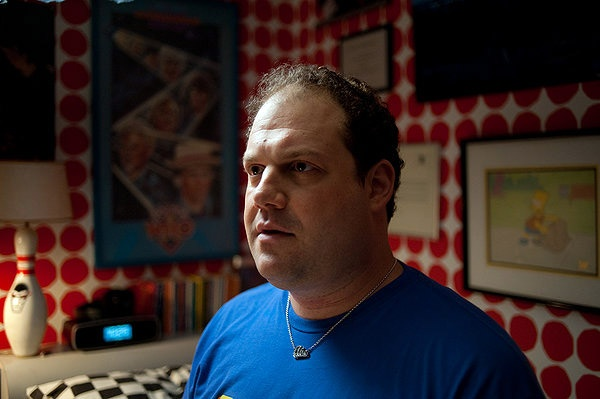 """In """"Dark Horse,"""" a kinda-comedy about a schlub and the women in his sad life, writer-director Todd Solondz finds a pitch-perfect blend of bitter humor and sweet dreams. http://ti.me/L5M4OT"""