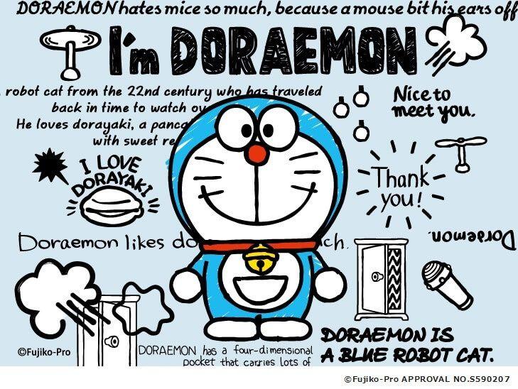 i m doraemon สต กเกอร ลายเส นด เด ล การออกแบบโปสเตอร