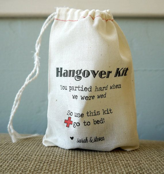 Hey, I found this really awesome Etsy listing at https://www.etsy.com/listing/174665778/10-personalized-wedding-hangover