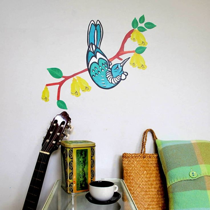 Tui StickyTiny wall decal
