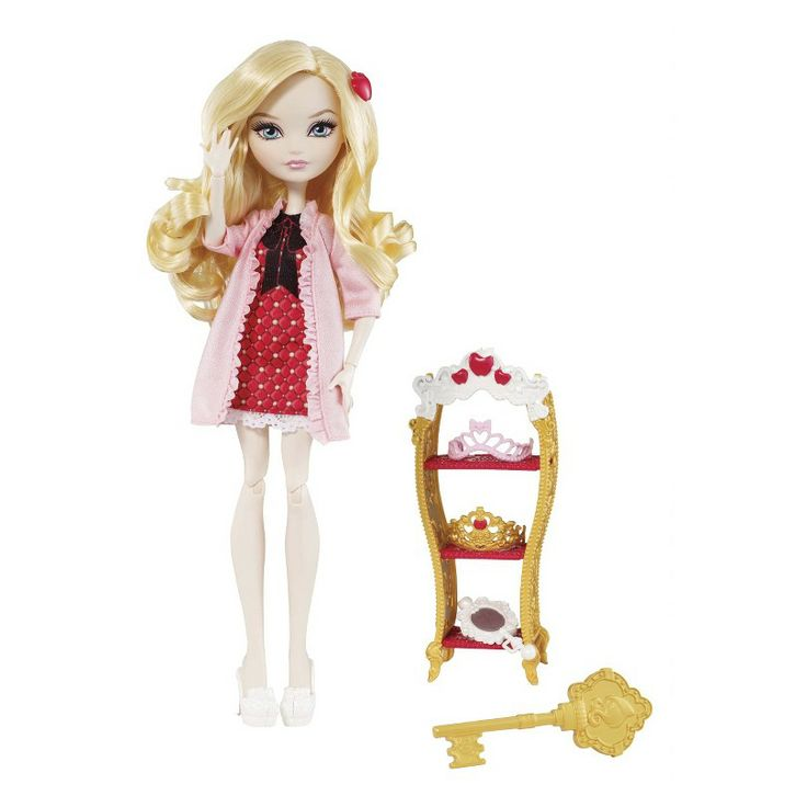 Ever After High Getting Fairest Apple White Doll & Accessory