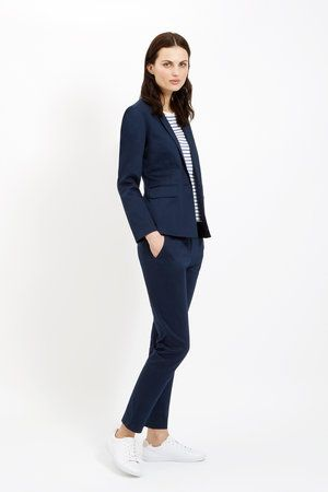 Navy Blazer by People Tree
