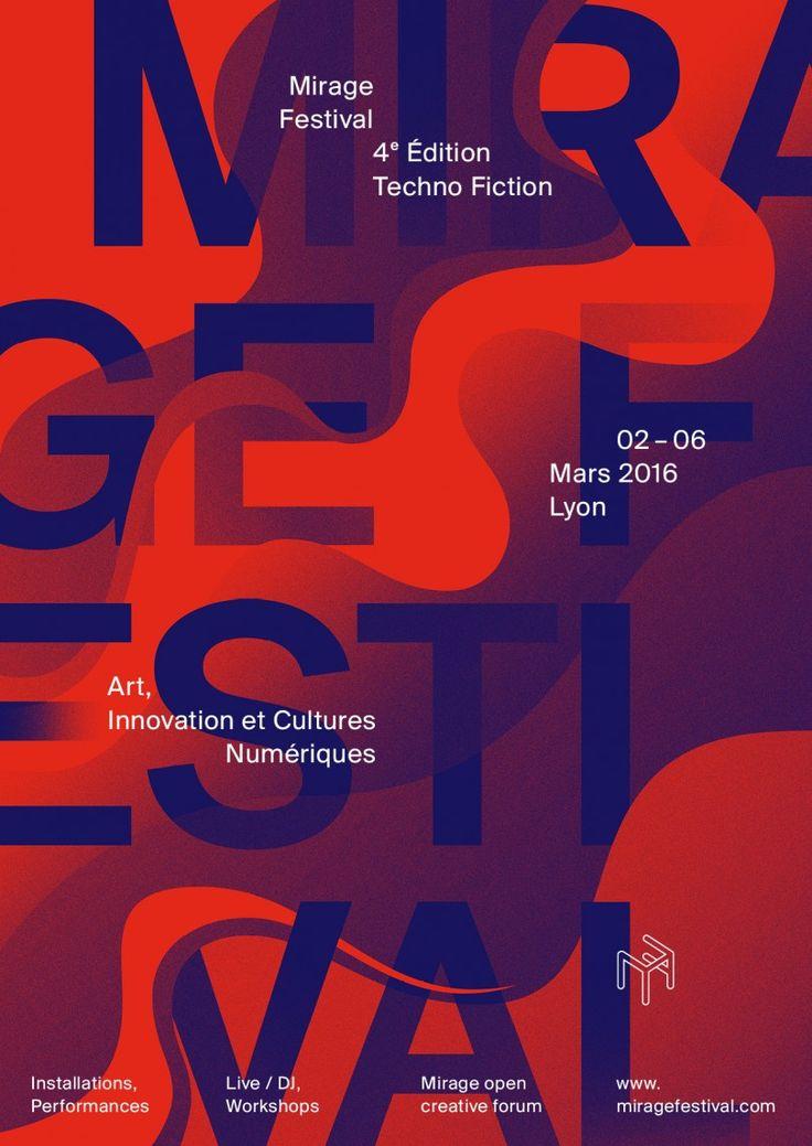 Mirage Festival 2016, Techno Fiction, Lyon (artwork Cécile + Roger)