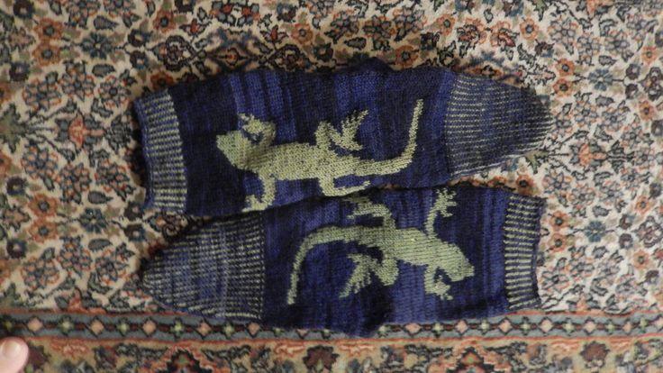 chaussette margouillad lezard socks