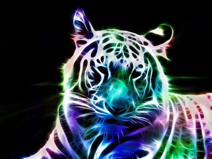 59 best images about art animals on pinterest - Neon animals wallpaper ...