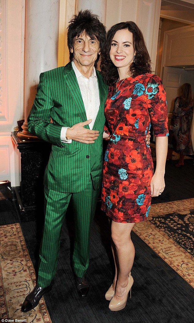 Ronnie Wood set to be a dad again at 68: Rocker's third wife Sally, 37, pregnant with twins  Read more: http://www.dailymail.co.uk/tvshowbiz/article-3348420/Ronnie-Wood-dad-68-Rocker-s-wife-Sally-pregnant.html#ixzz3thCptWHd Follow us: @MailOnline on Twitter | DailyMail on Facebook