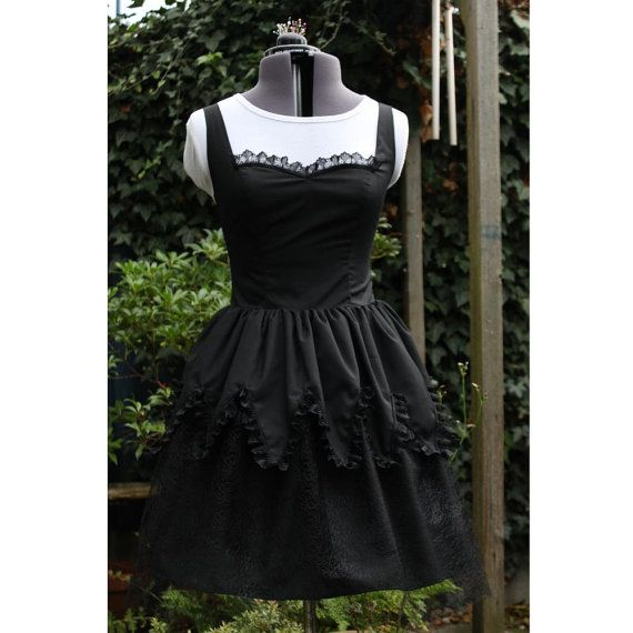 gothic Lolita witch dress Perfect for Xmas New Years by dashAmbler, $89.95