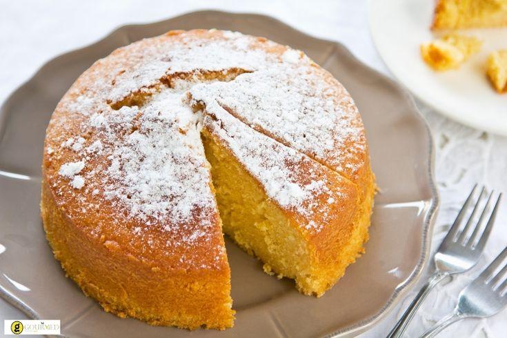 Εύκολη βασιλόπιτα κέικ με πορτοκάλι - gourmed.gr