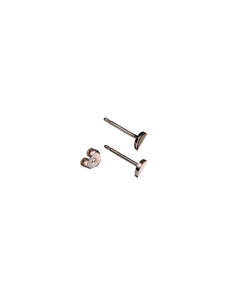 Earring 'Lune' Pin Rose http://www.theboyscouts.nl/product/earring-lune-pin-rose