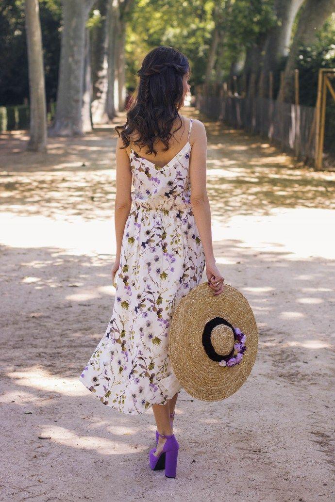 Look invitada boda campo campestre vestido floral  d2987165bed