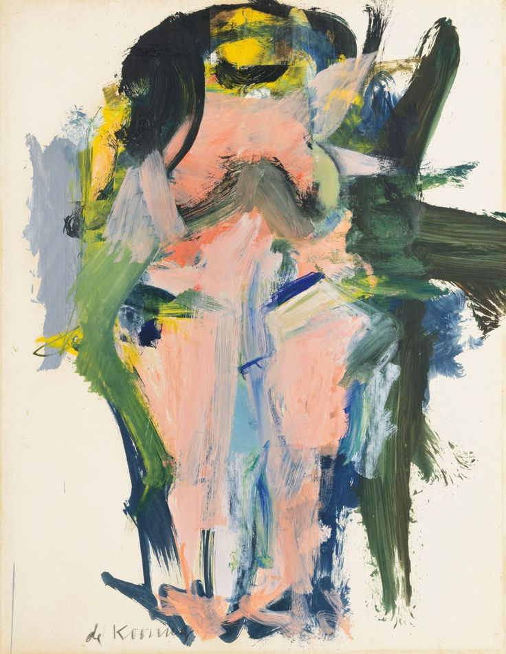 Anne-Sophie Tschiegg — Willem de Kooning                                                                                                                                                                                 Plus