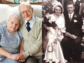 Getrouwd 7juli 1933! Hij is 107 jaar zijns 101jaar