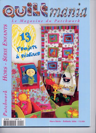 QUILTMANIA - ENFANTS 2006 -65 pages - downloaded