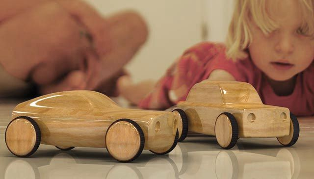 Build it Yourself Toy Car. Designed & Invented by People People in Stockholm