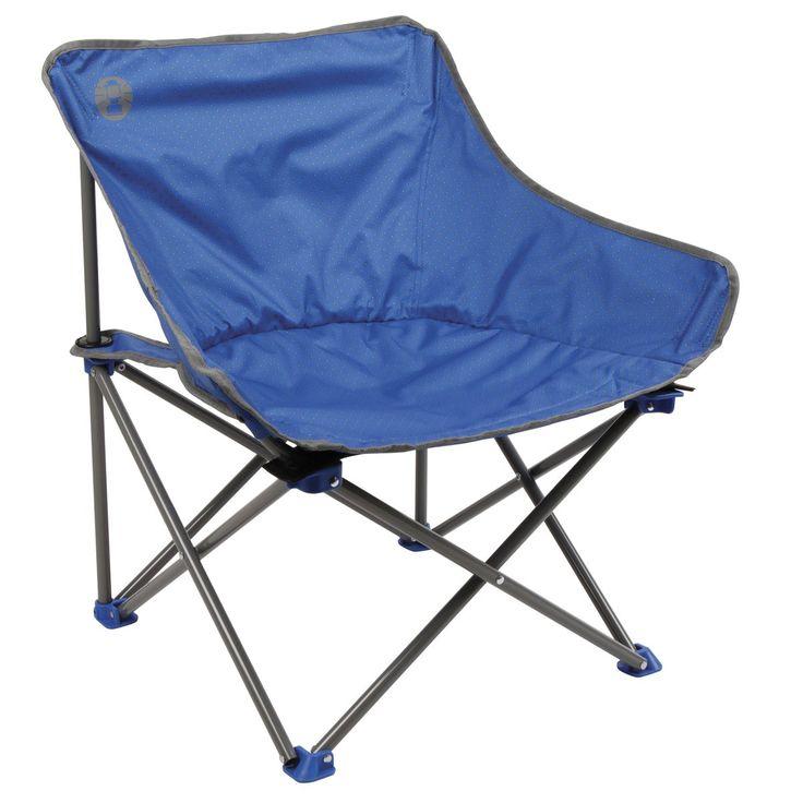 Blå Coleman KICKBACK CHAIR, campingstol - Campingtillbehör - xxl.se