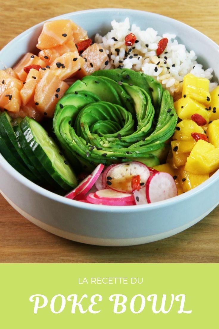 La ricetta della poke bowl e la sua rosa di avocado: la ricetta gourmet e la salute …