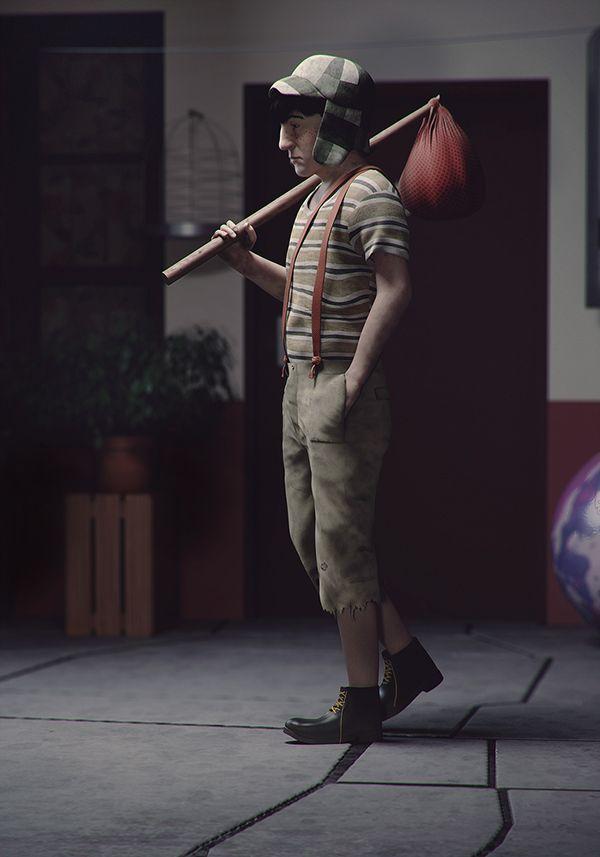 Os personagens 3D de Guzz Soares - Dominar softwares 3D é uma habilidade que traz incríveis resultados. Confira a arte do brasileiro Guzz Soares que nos impressiona com seus personagens em 3D.