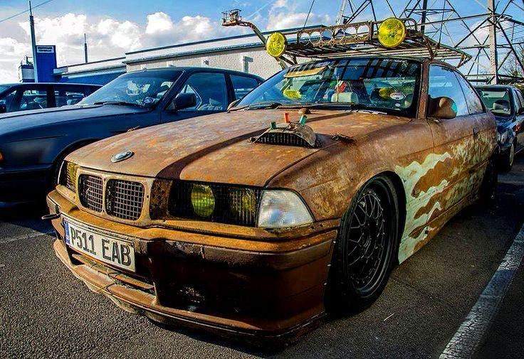 Faded Car Paint Rust
