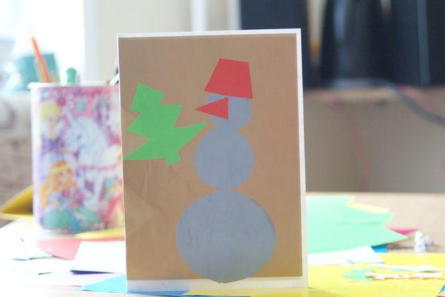 Открытка на Новый год / Postcard for New Year #postcard #card #NewYear