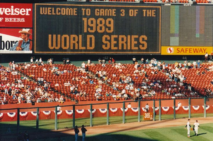 1989 World Series Earthquake Game Revisited