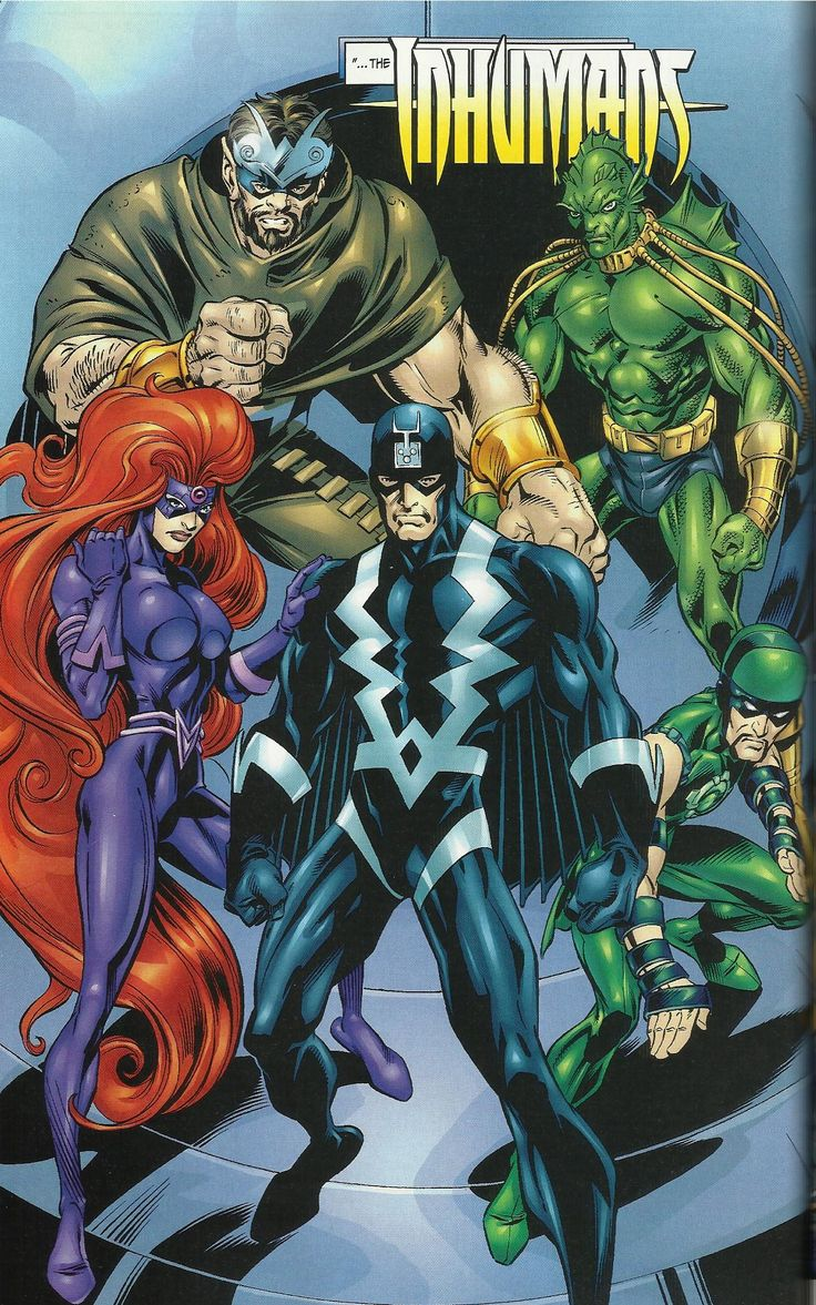 inhumans | Inhumans Enemies - Comic Vine