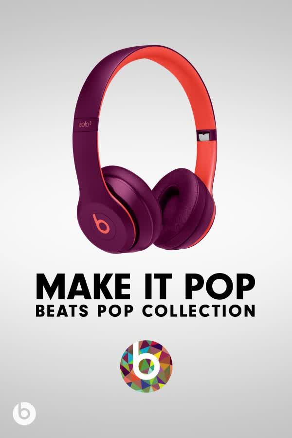 b2b6ae246c2 Refuse to blend in. Shop the Beats Pop Collection. Upgrade your ...