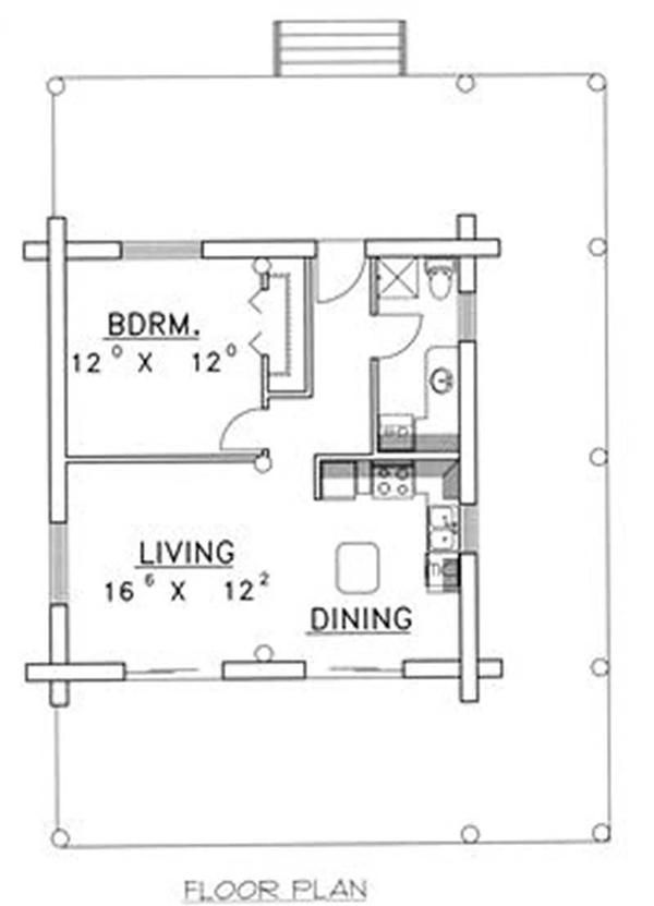 Tiny House Plan I 39 D Add A Tall Pantry To The Wasted Space