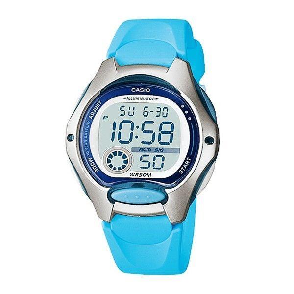 Casio LW-200-2B Ladies Sport Resin Band Digital Watch LW200 LW-200 ... 1bac748f2ced
