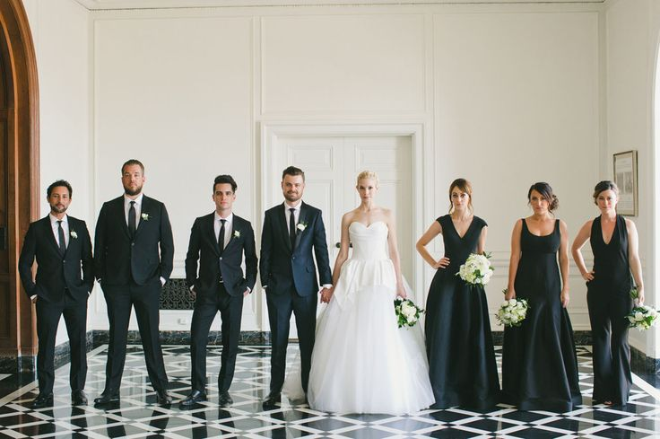 Personal touches, plenty of good food, and a double first look were the hallmarks of Spencer + Linda's classically lovely union.