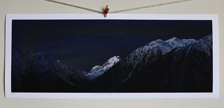 New Zealand - Aoraki (Mt. Cook) by Pusha on Etsy