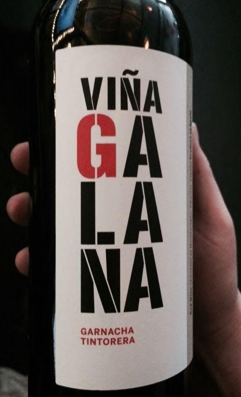 Vina Galana - Garnacha, Tintorera, Alicante Bouschet It is deep, dark, & purple all over, full and spicy!