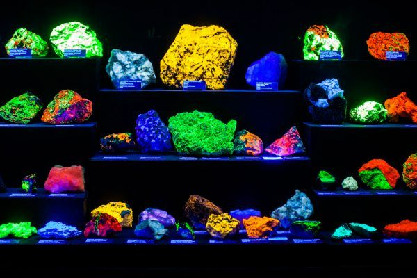 The museum has become something of a sparkling mineral in its own right.