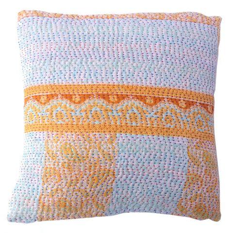 Basha Cool Breeze Kantha Cushion