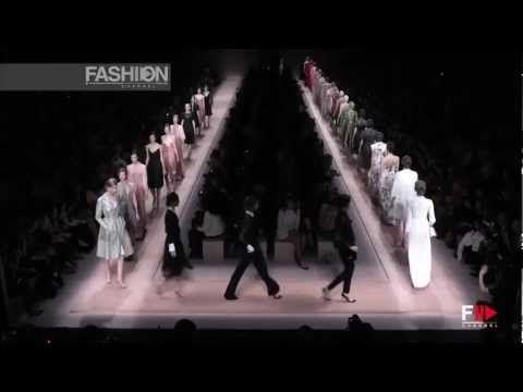 "▶ ""Valentino"" Fashion Show Spring Summer 2013 Pret a Porter Women Paris Fashion Week Full Show - YouTube"
