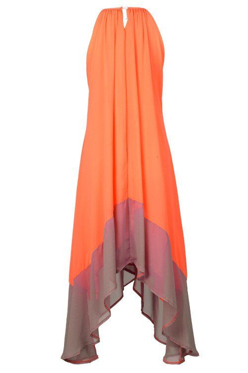 Cupshe Daisy Does It Candy Halter Maxi Dress