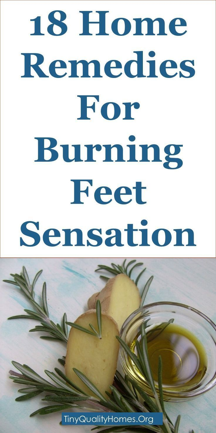 burning feet at night treatment