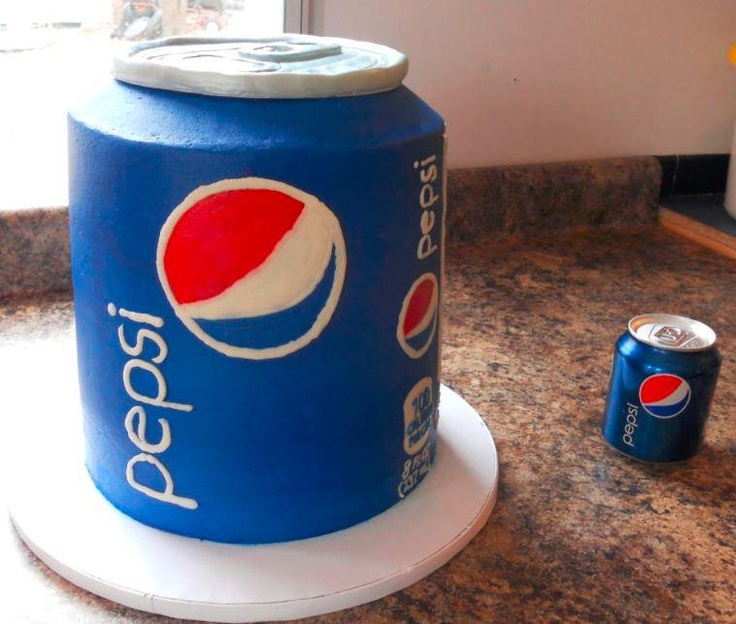 Now you can have your Pepsi Cake and eat it too.
