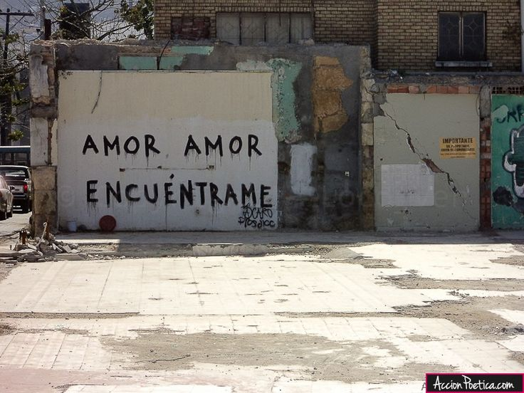 Amor amor encuentrame | accion poetica | Pinterest | Amor