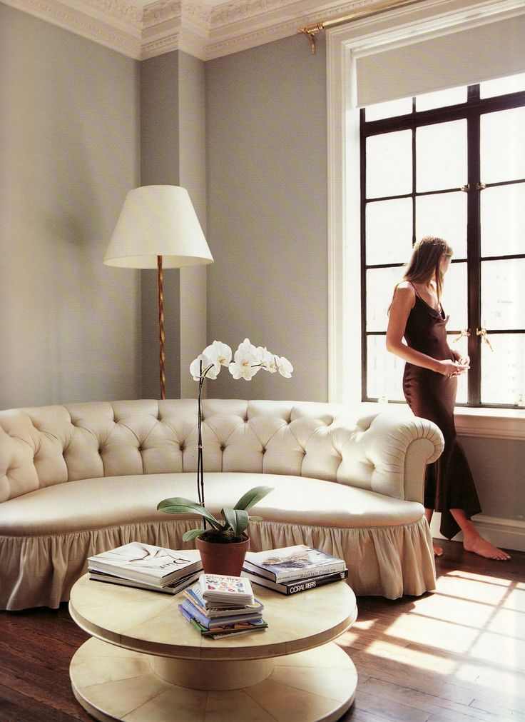 Aerin Lauder 's Manhatten  living room