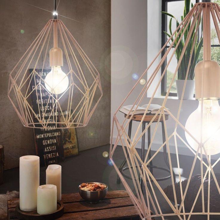Vintage Pendel Hnge Lampe Nostalgie Industrie Design Wohnzimmer Fabrik Leuchte In Mbel Wohnen Beleuchtung