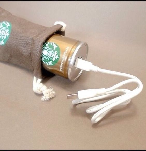 New Starbucks Battery Power Bank Charger