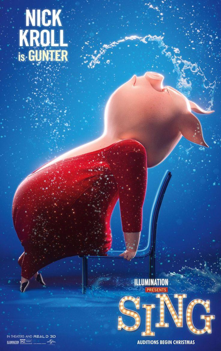Sing (2016) Sing movie, Sing 2016, Sing full movie