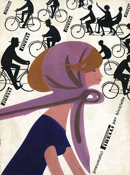 Pirelli, illustration by Lora Lamm