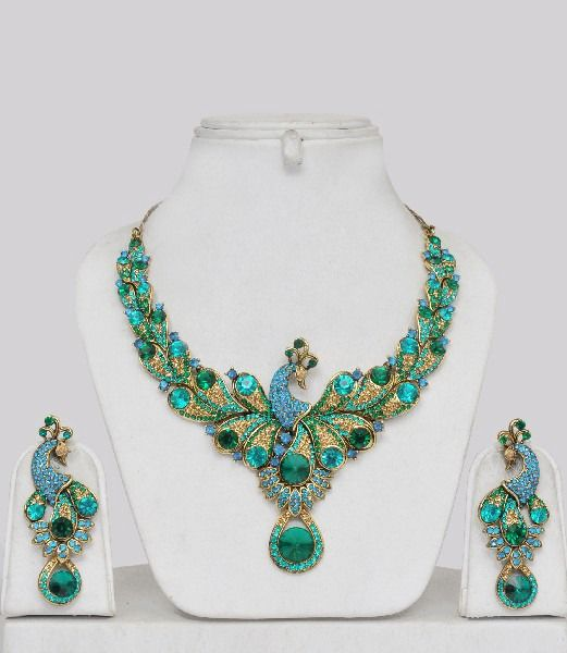 peacock tail pattern handmade jewelry peacock design